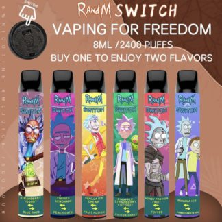 RandM Switch Rick and Morty 2400 Puffs